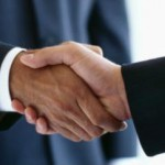 partnership handshake